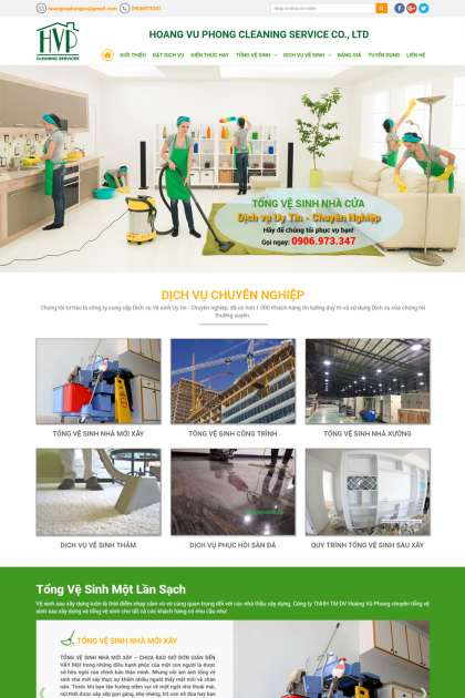 HOANG VU PHONG CLEANING SERVICE CO., LTD